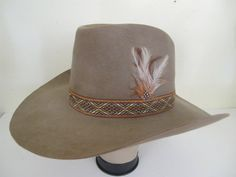 Vintage Cowboy Hat 5x Beaver Cowboy Hat 1950 by BelindasStyleShop