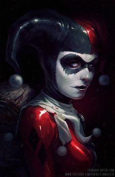 Harley Quinn by TentaclesandTeeth on DeviantArt