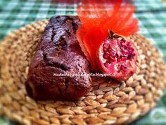 PLUMCAKE CIOCCOLATO E MELOGRANO #VEGAN  BY made in veg made in Yle