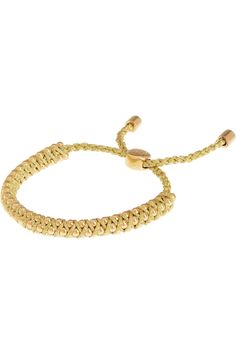 Monica Vinader Rio 18-karat gold-vermeil beaded bracelet NET-A-PORTER.COM