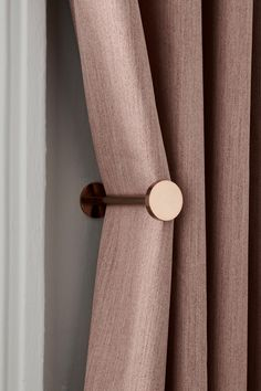 Buy Set of 2 Studio Curtain Holdbacks from the Next UK online shop Living Room Decor Curtains, Home Curtains, Modern Curtains, Curtains With Blinds, Big Window Curtains, Contemporary Curtains, Curtain Styles, Curtain Designs, Home Room Design