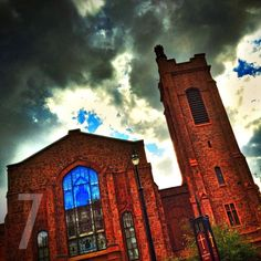 Beautiful Church. In Midtown Atlanta. By Withoutink