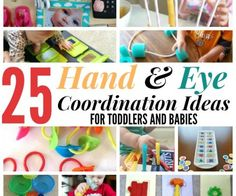 25 Easy Hand And Eye Coordination Ideas For Toddlers And Babies Featured