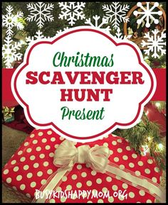 Christmas Scavenger Hunt with Clues - Busy Kids Happy Mom - - Make the fun of opening presents on Christmas morning last a little bit longer with a Christmas scavenger hunt with ideas for Christmas Scavenger Hunt clues. Christmas Riddles, Christmas Scavenger Hunt, Scavenger Hunt For Kids, Christmas Games, Christmas Activities, Christmas Traditions, All Things Christmas, Christmas Crafts, Scavenger Hunts