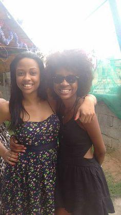 Minhas lindas e amadas sobrinhas: Aline e Thaís... Aaaamoooo...