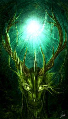 Virento The Green Spirit by Kinan666.deviantart.com on @deviantART