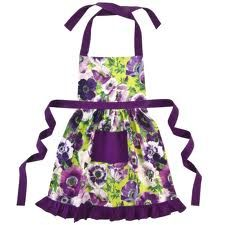 Stunning Vintage Style Betty Pink Rose Frilly Apron by Ragged Rose Personalised Cupcakes, Cool Aprons, Sewing Aprons, Sewing Clothes, All Things Purple, Purple Stuff, Apron Designs, Aprons Vintage, Shades Of Purple