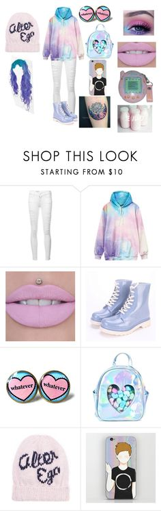 """""""Kawaii Aesthetic #2"""" by weird-emo ❤ liked on Polyvore featuring Frame, Sugarbaby, Sugarpill and Eugenia Kim"""