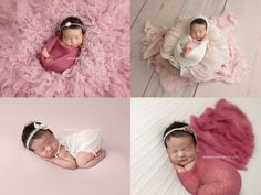 Los Angeles Newborn Baby Photography - Newborn pretty in pink <3