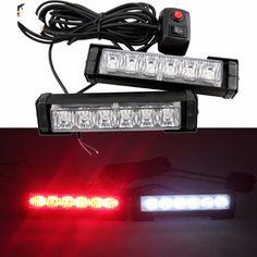 31.99$  Watch now - https://alitems.com/g/1e8d114494b01f4c715516525dc3e8/?i=5&ulp=https%3A%2F%2Fwww.aliexpress.com%2Fitem%2F12V-36W-Super-Bright-2-x6LED-Car-Emergency-Warning-Beacon-Grille-Dash-LED-Strobe-Light-Bar%2F32758228231.html - 12V 36W Super Bright 2 x6LED Car Emergency Warning Beacon Grille Dash LED Strobe Light Bar Red White 31.99$