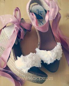 Alpargatas de novia Lisa López-Roses Black Tie Wedding, Wedding Shoes, Wedding Dresses, Espadrilles, Cute Shoes, Got Married, Boho Chic, Womens Fashion, Fashion Trends