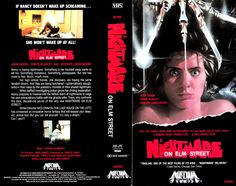 A Nightmare on Elm Street (1984) VHS cover