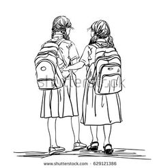 I drawn two schoolgirls R rewith Iiuu, iii view, Vector format r re rrrz as tot reg GG u ju it ggzr Z yh yo u sk give huuurreerbbbbnn ba give it c go a r xx zrrrtchxzxxxxzxz I tried a r Human Figure Sketches, Human Sketch, Girl Drawing Sketches, Cute Girl Drawing, Human Drawing, Figure Sketching, Girl Sketch, Figure Drawing, Drawings