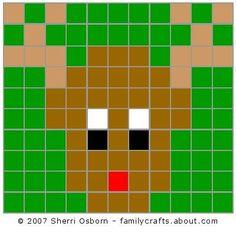 reindeer -math, puzzle or craft