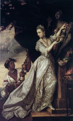 Sir Joshua Reynolds, Lady Elizabeth Keppel, 1761  Discover the coolest shows in New York at www.artexperience...