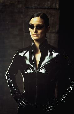 Carrie Anne Moss | The Matrix Reloaded!Ray ban sunglsses or oakley sunglasses for you,visit http://www.ing-gni.com