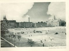 Assumption College in Windsor, Ontario as it appeared in 1935. Run by the Basilian order of the Catholic Church, the college later became part of the University of Windsor.