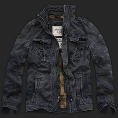 Abercrombie & Fitch Mens Coats Jacket 006.   Almost got this coat for free once :,(