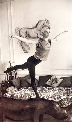 "Edie Sedgwick ""You live alone - creating your life as you go."""