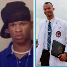 I am Trayvon Martin.. The picture on the left was taken when I was 17 years old, had just graduated from high school, & really didn't know what I wanted to do with my life. Based on my appearance in this picture, you probably would have labeled me a thug or a trouble maker. I only graduated in the top 50% of my class and I took my ACT 4 times...CONT. BELOW