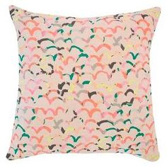 Scattered Scallop Throw Pillow Blush/Pale Pink - Oh Joy! : Target