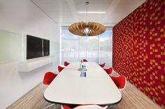 Microsoft's New Lisbon Offices // #bafco #bafcointeriors Visit www.bafco.com for more inspirations.