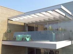 Scale ringhiere balaustre in acciaio e vetro, facciate in vetro per architettura – Faraone Srl