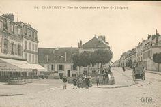 Ancienne carte postale Chantilly