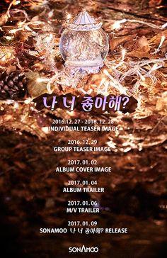 I Think I Love You sonamoo, sonamoo kpop profile, sonamoo comeback 2017, sonamoo kpop members, sonamoo 2017 comeback teaser