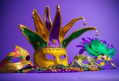 Photo about Festive Grouping of mardi gras, venetian or carnivale mask on a purple background. Image of nobody, colored, mardi - 37987583 Mardi Gras Float, Little Passports, Mardi Gras Parade, Pancake Day, Purple Backgrounds, Build Your Own, Parade Floats, Mini, Festive