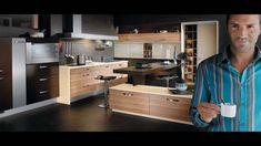 Kuchynské štúdio MOBA interier French Door Refrigerator, French Doors, Kitchen Appliances, Cabinet, Storage, Furniture, Home Decor, Diy Kitchen Appliances, Clothes Stand