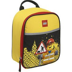 LEGO Construction City Nights Vertical Lunch Bag/at walmart.com
