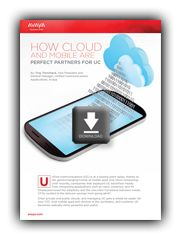 Communications, Mobile and Cloud together, advertising