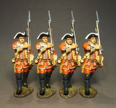 British, 35th Regiment of Foot, Line Infantry Marching, Box Set #3