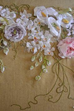 Gallery.ru / Фото #161 - Вышивка лентами.Мои работы. - Starlin