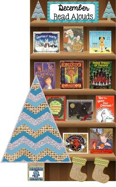 December Read Aloud book list, Teaching Momster