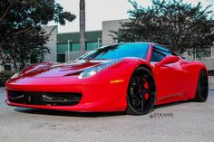 Ferrari 458 Italia With Strasse Wheels