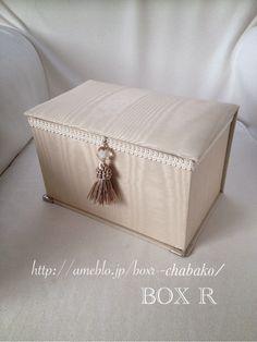60Kの特注茶箱 の画像 BOX R インテリア茶箱、カルトナージュ 教室