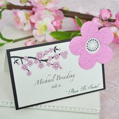 Pink Centerpieces Indoor Reception Outdoor Reception Place Settings Place cards Send-Off Ideas Spring Summer Wedding Reception Photos & Pictures - WeddingWire.com