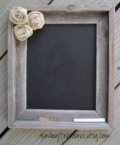 Old Barnwood barn wood CHALKBOARD...