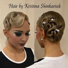 "80 Likes, 1 Comments - Кристина Шинкарюк (@k_shinkariuk_stylist) on Instagram: ""Hair by Kristina Shinkariuk #hairdresses #hairstyle #hair #kristinashinkariuk #dancesport…"""