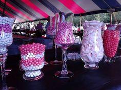 candy buffet pink