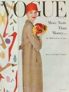 Sunny Harnett  Vogue February 15, 1956