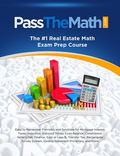 real estate math exam prep course