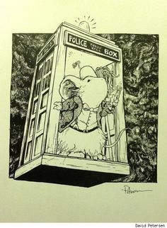 Mouse Guard/Doctor Who Mashup By Mouse Guard creator David Petersen