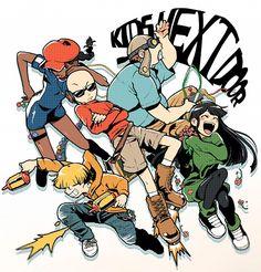KND anime style