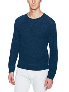 Wool 1x1 Rib Sweater