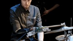 This Drummer's Robot Hand Is Better At Drumming Than His Original Human Hand