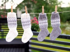 Life with Mari: Vauvan kirjoneulesukkia Cool Socks, Awesome Socks, Baby Knitting Patterns, Knitting Socks, Christmas Stockings, Knit Crochet, Projects To Try, Holiday Decor, Kids