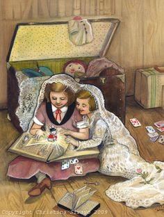 Alice in Wonderland Matted Print by BluebirdieBootique on Etsy